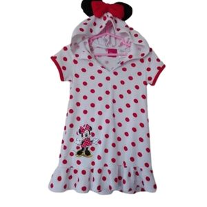 Other - Girls polka dot Disney Minnie Mouse swim cover 3T